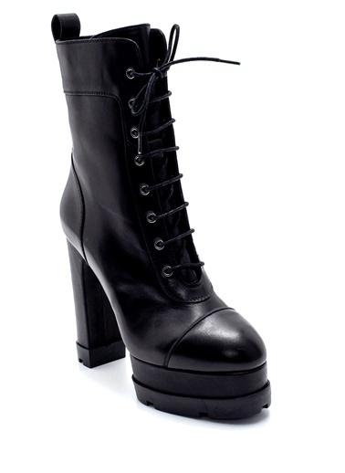 Derimod Kadın Bot (20795) Klasik Siyah